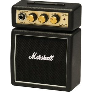 Marshall MS 2-1W Micro Practice Guitar Amplifier